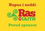 Hapus i noddi - Ras Yr Iaith - Proud Sponsor